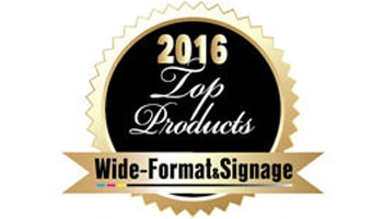 HP Scitex FB550 Printer receives a 2016 Wide-Format & Signage Top Products award.