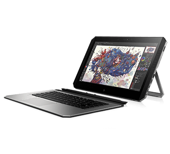 HP ZBook x2 left view