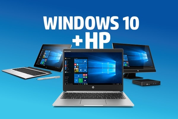 Win10: Windows 10 plus HP Migration suite photo