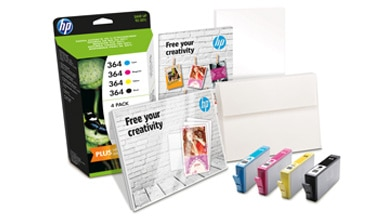 HP printing supplies value pack for printables