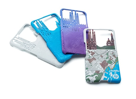 3D printed cell phone cases
