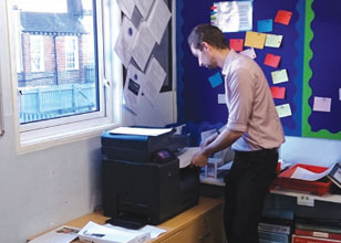Norwood and Crescent Primary Schools make printing simple