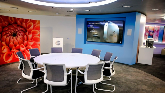 image of London's welcome center conference room