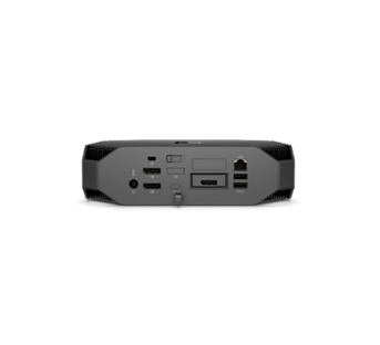 HP Z2 mini  rear view with ports