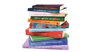 Scientific, technical and medical publishing books
