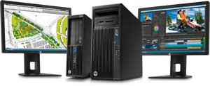 The HP Z230 has power to spare - and share.