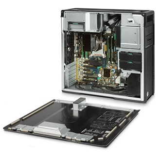 HP Z640 Workstation chassis