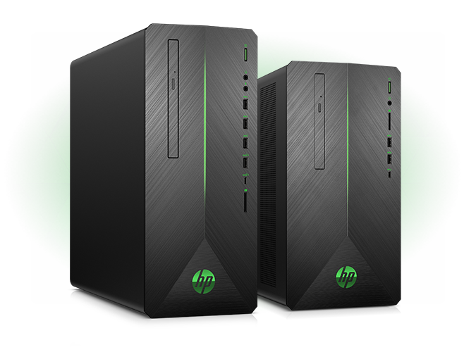 Pavilion gaming desktops right view