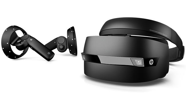 HP Windows Mixed Reality Headset with Controllers