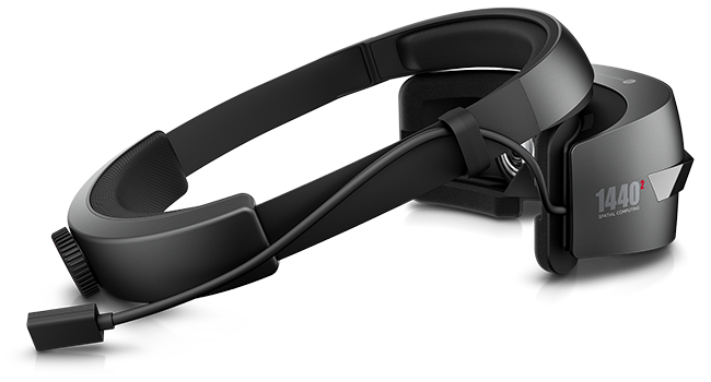 HP Windows Mixed Reality Headset right side