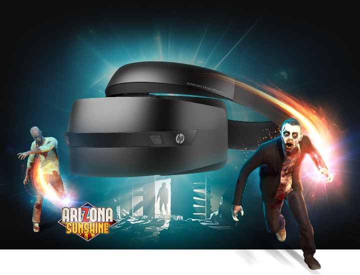 HP Windows Mixed Reality Headset immersive computing