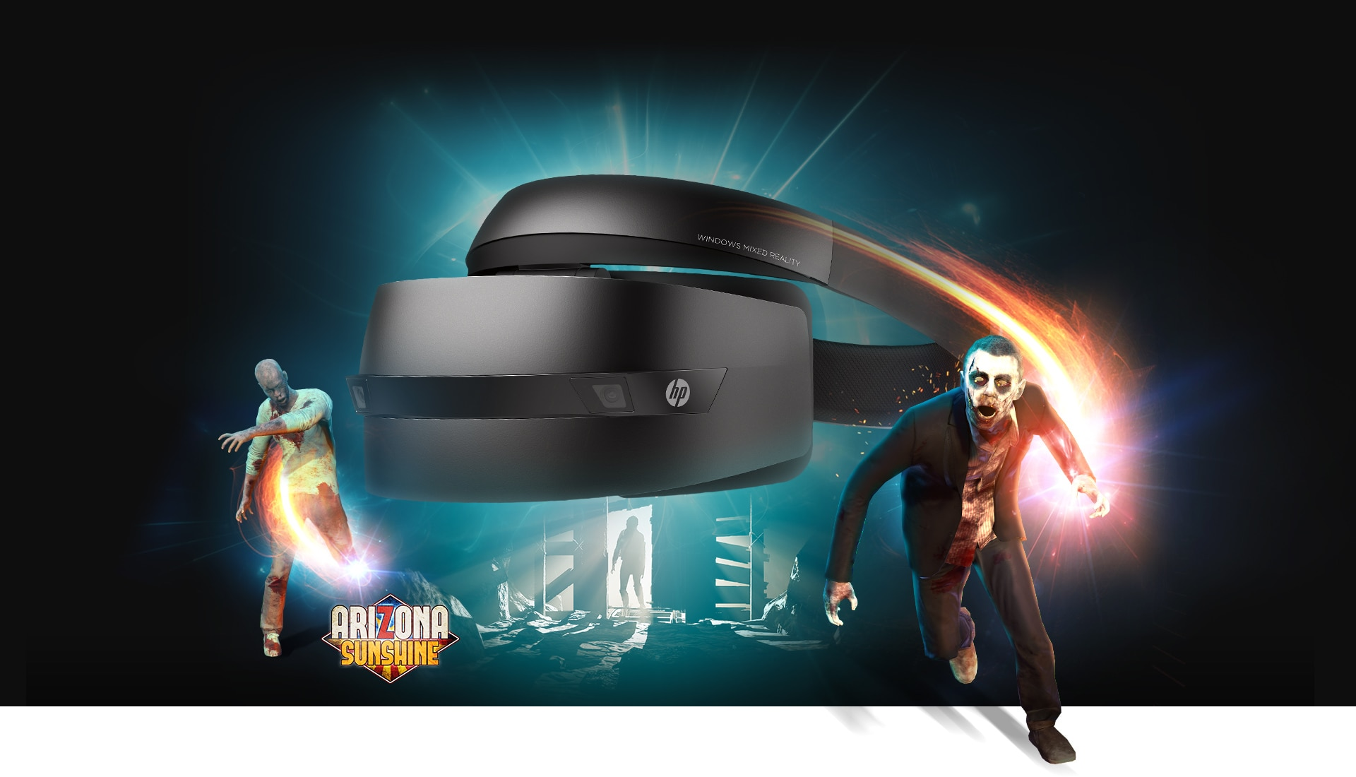 HP Windows Mixed Reality Headset immersive puting