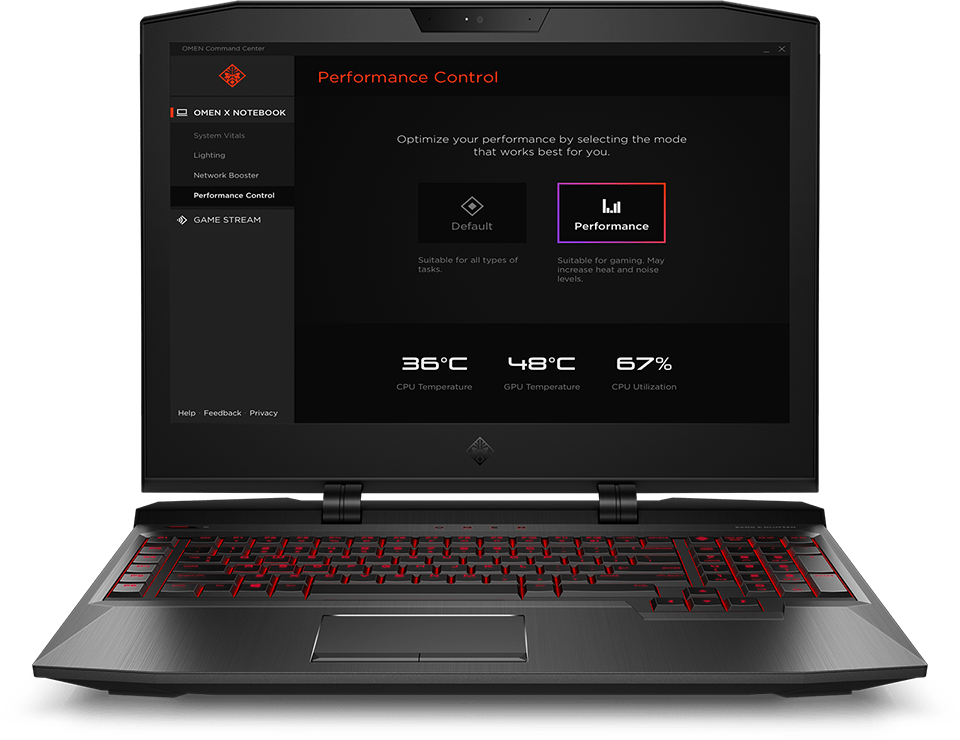 HP OMEN Command Center | HP® Official Site