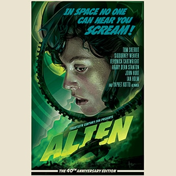alien movie screen poster