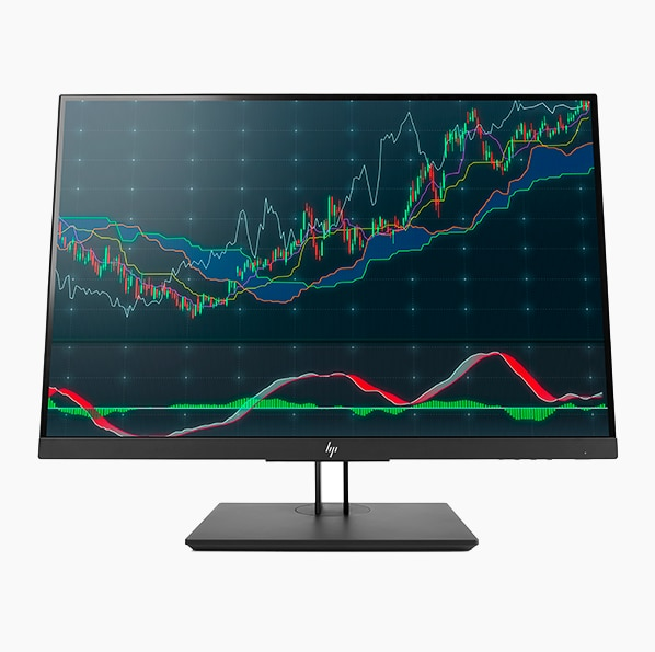 HP Z24N G2 24 inch monitor facing forward
