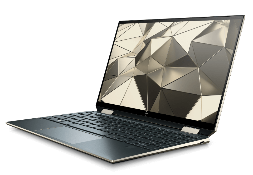Spectre x360 detail view of CNC all-aluminum body