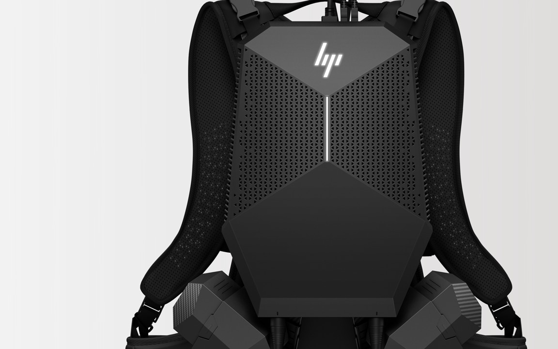 HP VR backpack full view