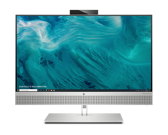 HP EliteOne 800 business All-in-One in front view.