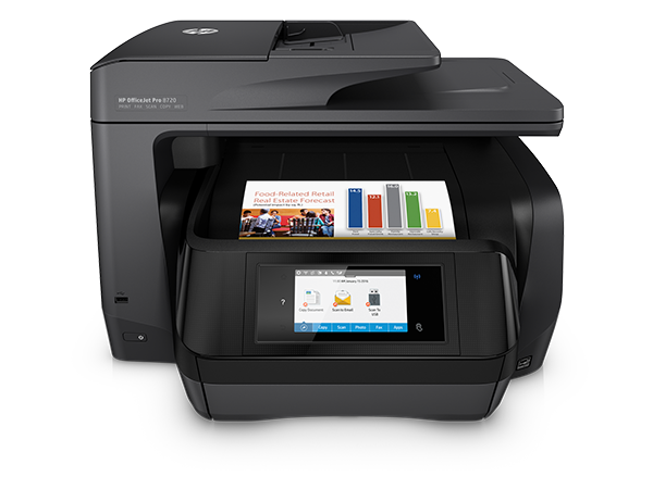 HP OFFICEJET PRO 8720 - BLACK