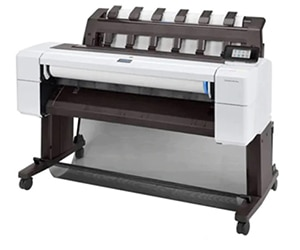 "HP DesignJet T1600dr Large Format PostScript® Dual-Roll Printer - 36"", with Best-in-Class Security Features (3EK13A/3EK13F)"