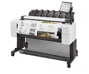 "HP DesignJet T2600 Large Format Multifunction PostScript® Printer - 36"", with Best-in-Class Security Features (3XB78A/3XB78F)"