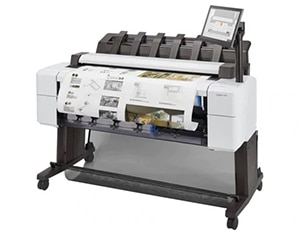 "HP DesignJet T2600dr Large Format Multifunction Dual-Roll PostScript® Printer - 36"", with Best-in-Class Security Features (3EK15A/3EK15F)"