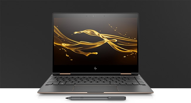HP Spectre x360 laptop mode