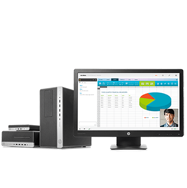 HP Pro business desktops