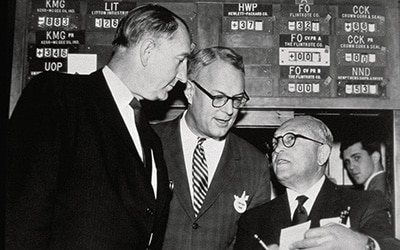 HWP on the NYSE, 1961