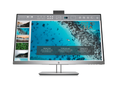 elite display monitor with bright and colorful screen
