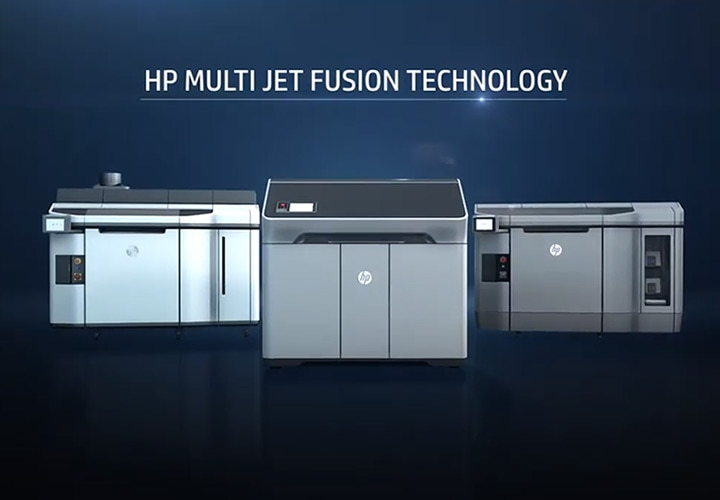 HP Multi Jet Fusion Technology Introduction Video
