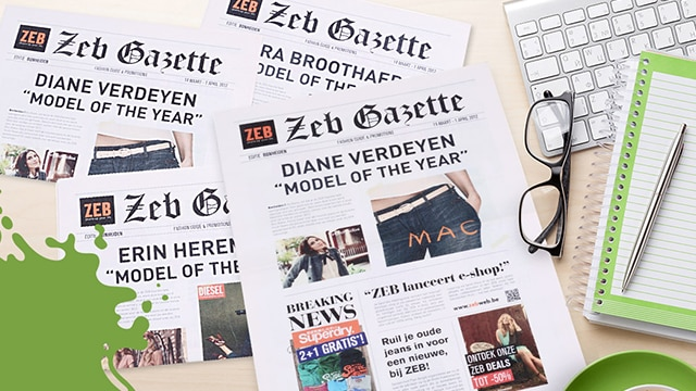 Zeb – Direct mail