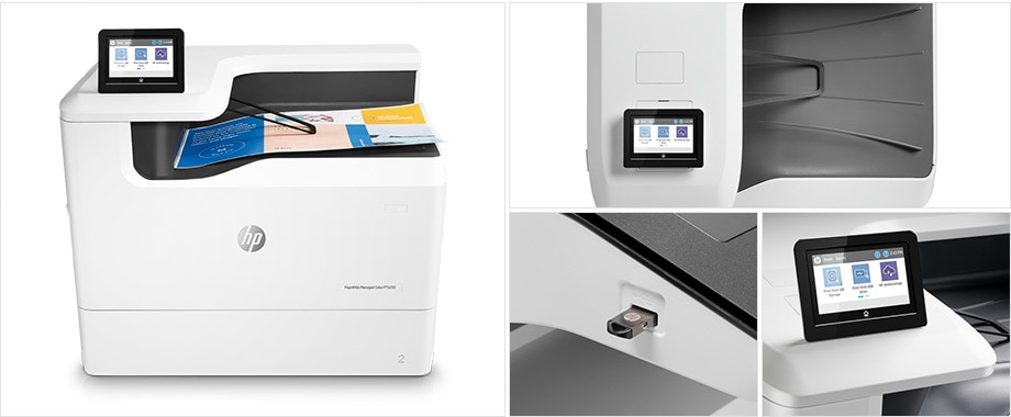 HP PageWide Managed P75250 Printer series