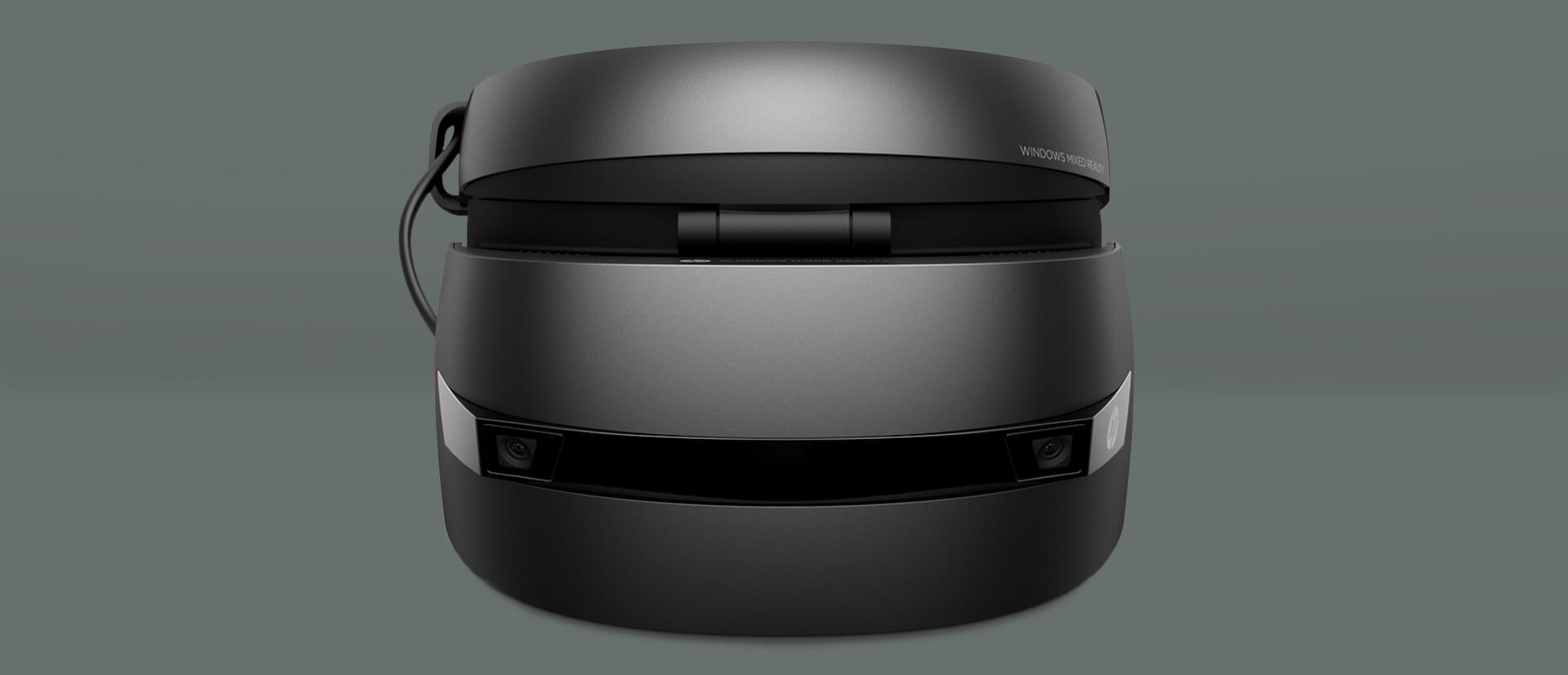HP Windows Mixed Reality headset side by side