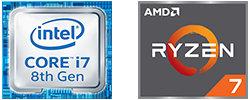 Powerful Intel® or AMD® processors