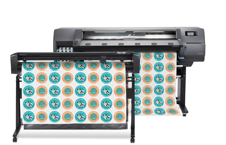 HP Latex 115 Print & Cut Solution