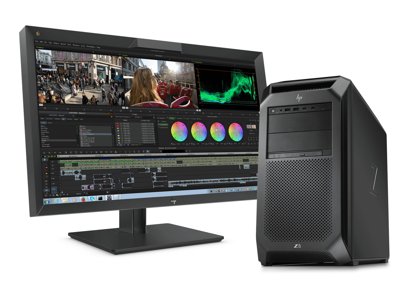 Avid | Workstations Solution Partner | HP® Official Site