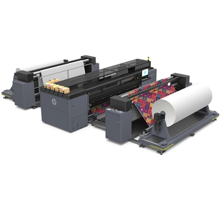 HP Latex 3800 Jumbo Roll Solution - Drive new growth for your business with HP Latex digital décor printing capabilities