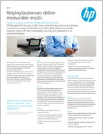 HP MPS case study brief