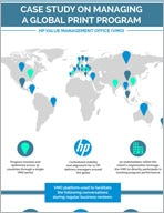 HP Value Management Office (VMO) infographic