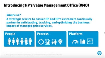 HP VMO overview video