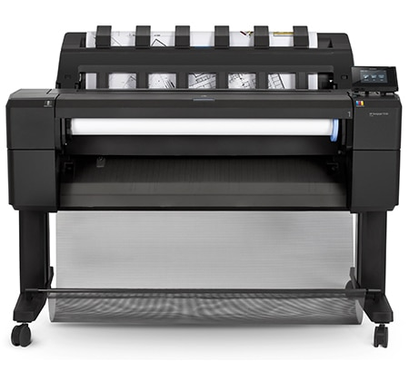 HP DesignJet T930 printer plotter