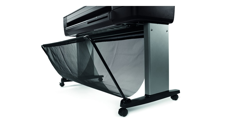Side view of the HP DesignJet T730 Printer