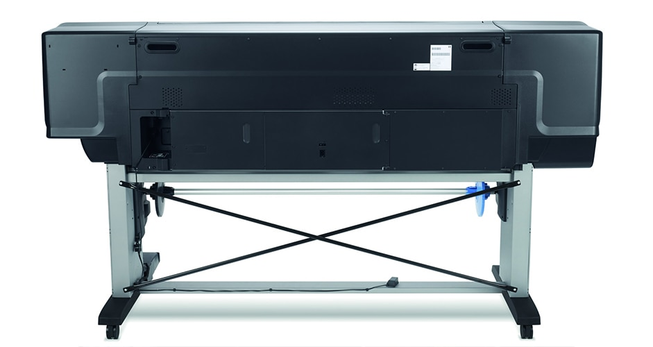 Front view of the HP DesignJet Z6800 Photo Production Printer
