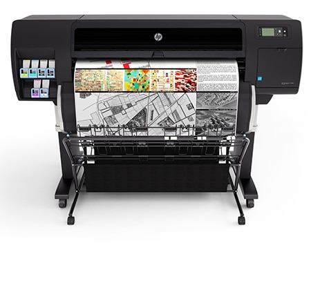 HP DesignJet T7200 42-inch Production Printer with PostScript® Upgrade Kit²