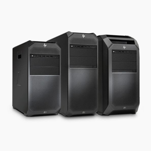 HP Z2, Z4 and Z6 workstations