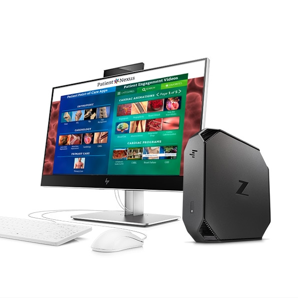 HP ELITEONE 800 HEALTHCARE EDITION ALL-IN-ONE and the hp z2 Mini workstation