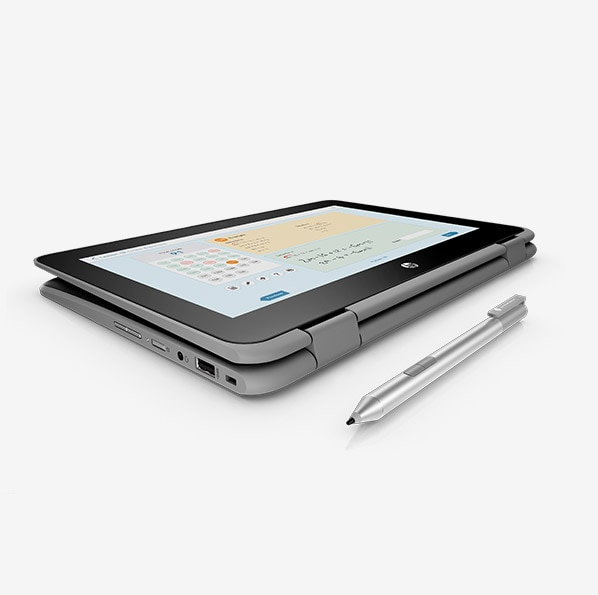 HP ProBook x360 11 G4 Education Edition in tablet mode