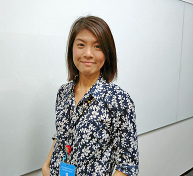 Photo of HP employee Shan