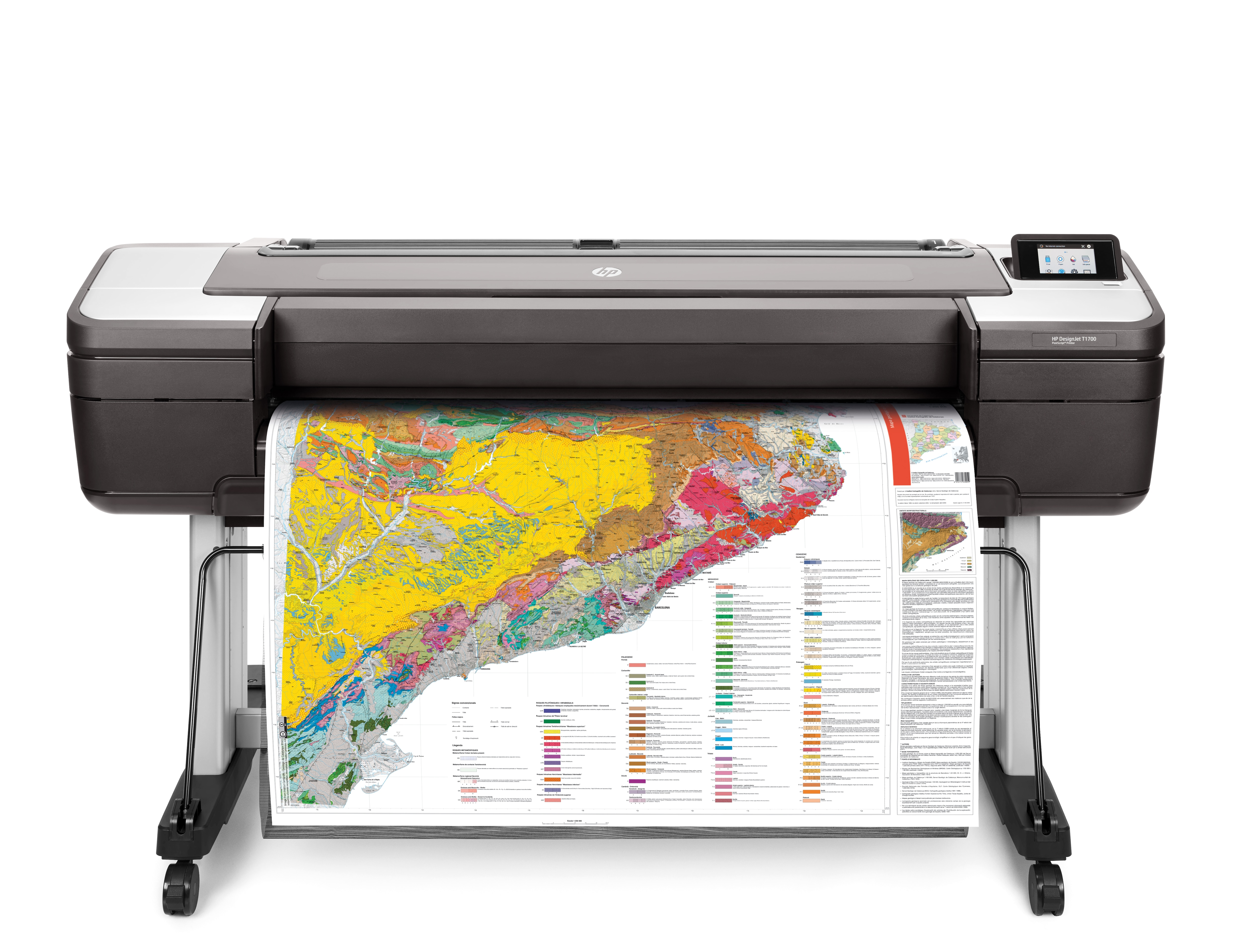 HP DesignJet T1700 Printer  front